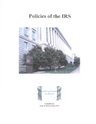 Policies of the IRS